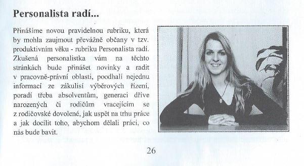 Trh práce na Třebíčsku (Zpravodaj zdravého městyse Okříšky, 3. 10. 2016)