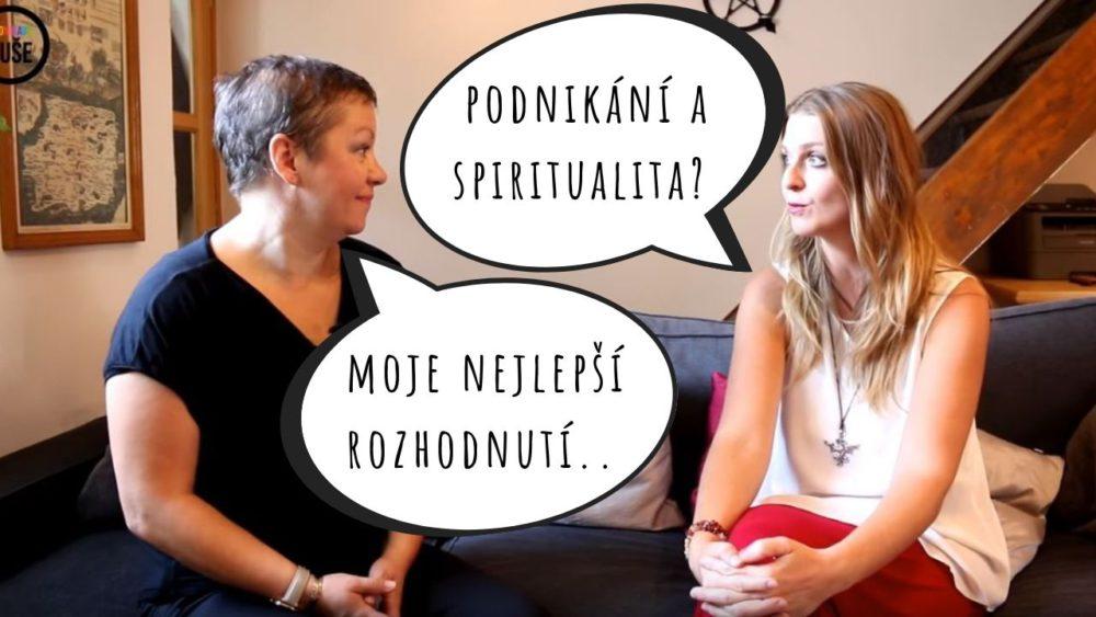 Magdalena Čevelová: podnikání a spiritualita?