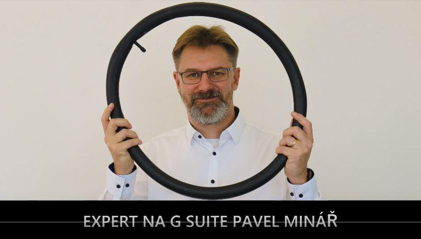 Pavel Minář – příběh introverního ajťáka, školitele G Suite